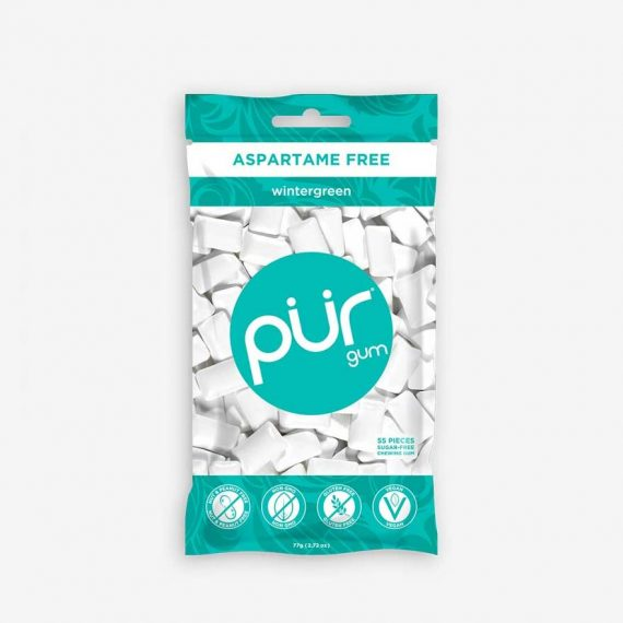 Pur Chewing Gum Wintergreen Bag