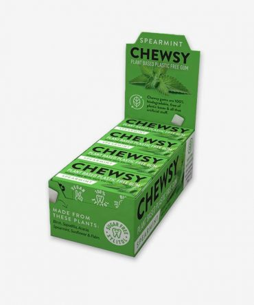 Chewsy Natural Chewing Gum Volume Box - Spearmint