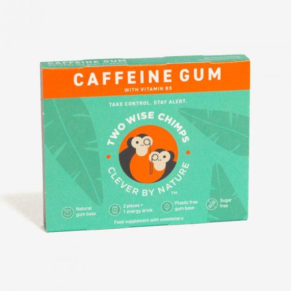 Caffeine kauwgom