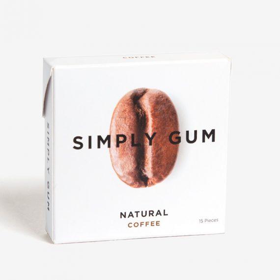 Simply Gum koffie kauwgom