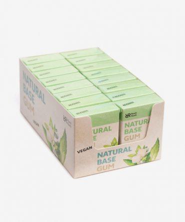 Roelli Roelli Natural Chewing Gum Spearmint Matcha Tea Mega Box