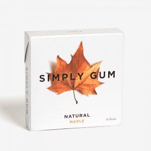 Simply Gum Maple Kauwgom