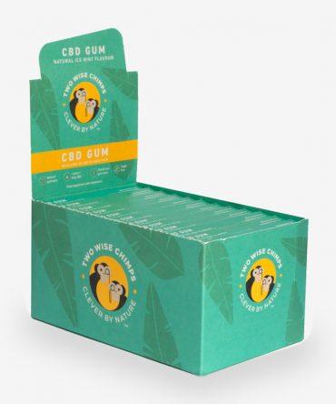 Two Wise Chimps CBD Gum Mega Box