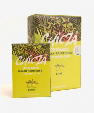Chicza Natural Chewing Gum Lime Mega Box
