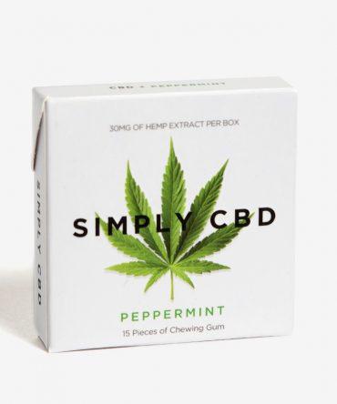 Simply Gum CBD Natuurlijke Kauwgom