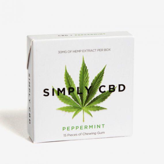 Simply Gum CBD chewing gum