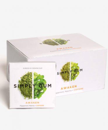 Simply Gum Awaken Kauwgom Mega Box